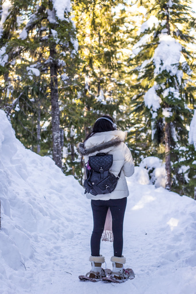 Snowshoeing Canada