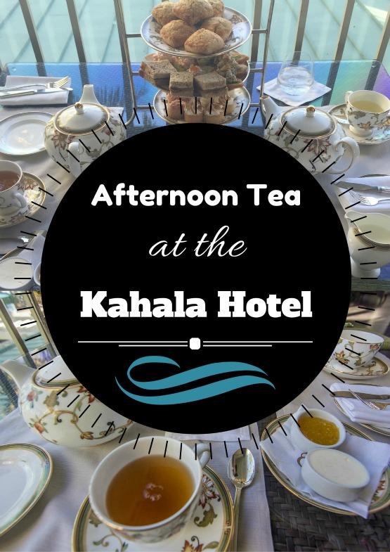 Afternoon Tea Kahala Hotel
