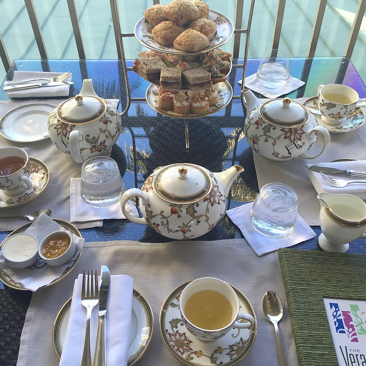 The Kahala Resort Afternoon Tea Veranda