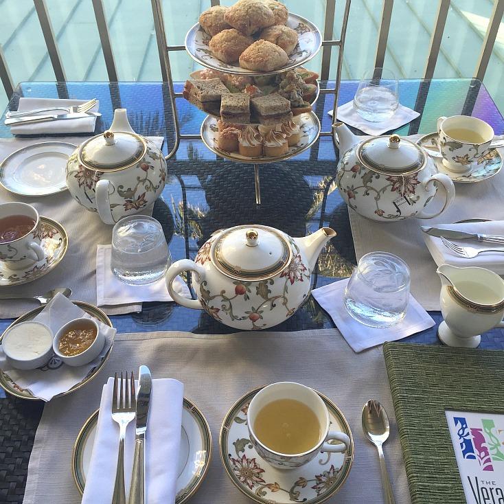 The Kahala Resort Afternoon Tea Veranda