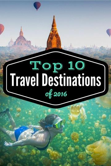 Travel Destinations 2016