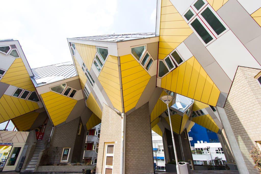 weird Cube House Airbnb