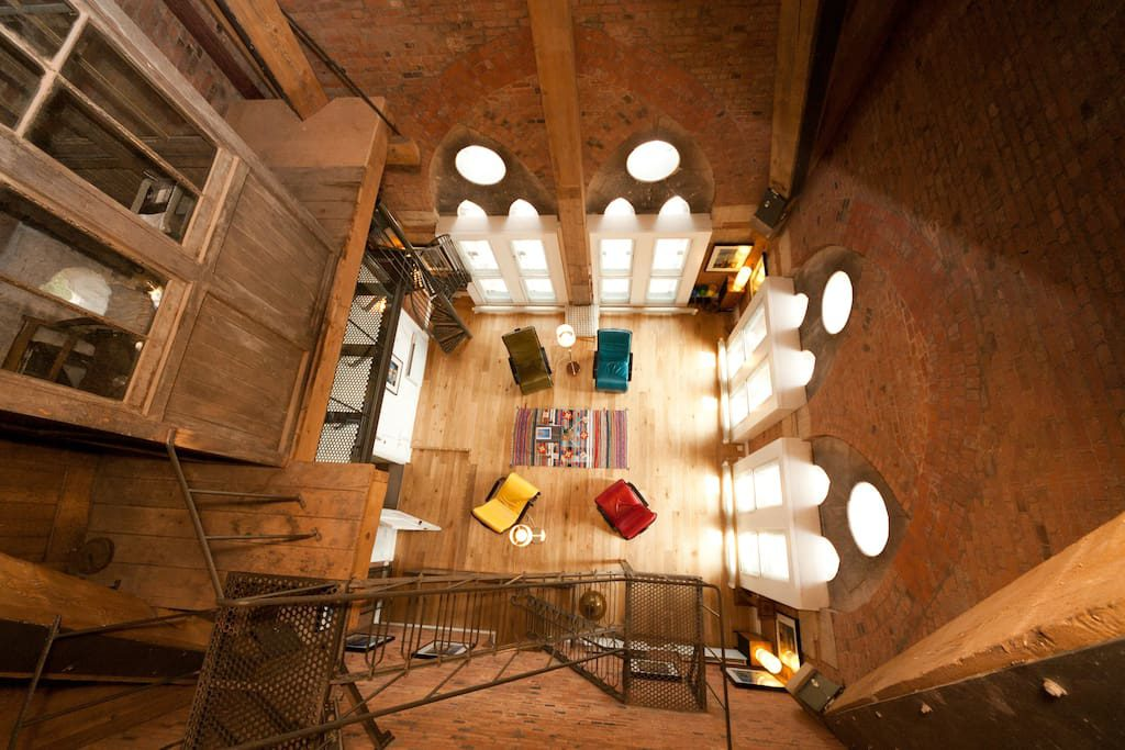 Weird Airbnb Rental Clocktower