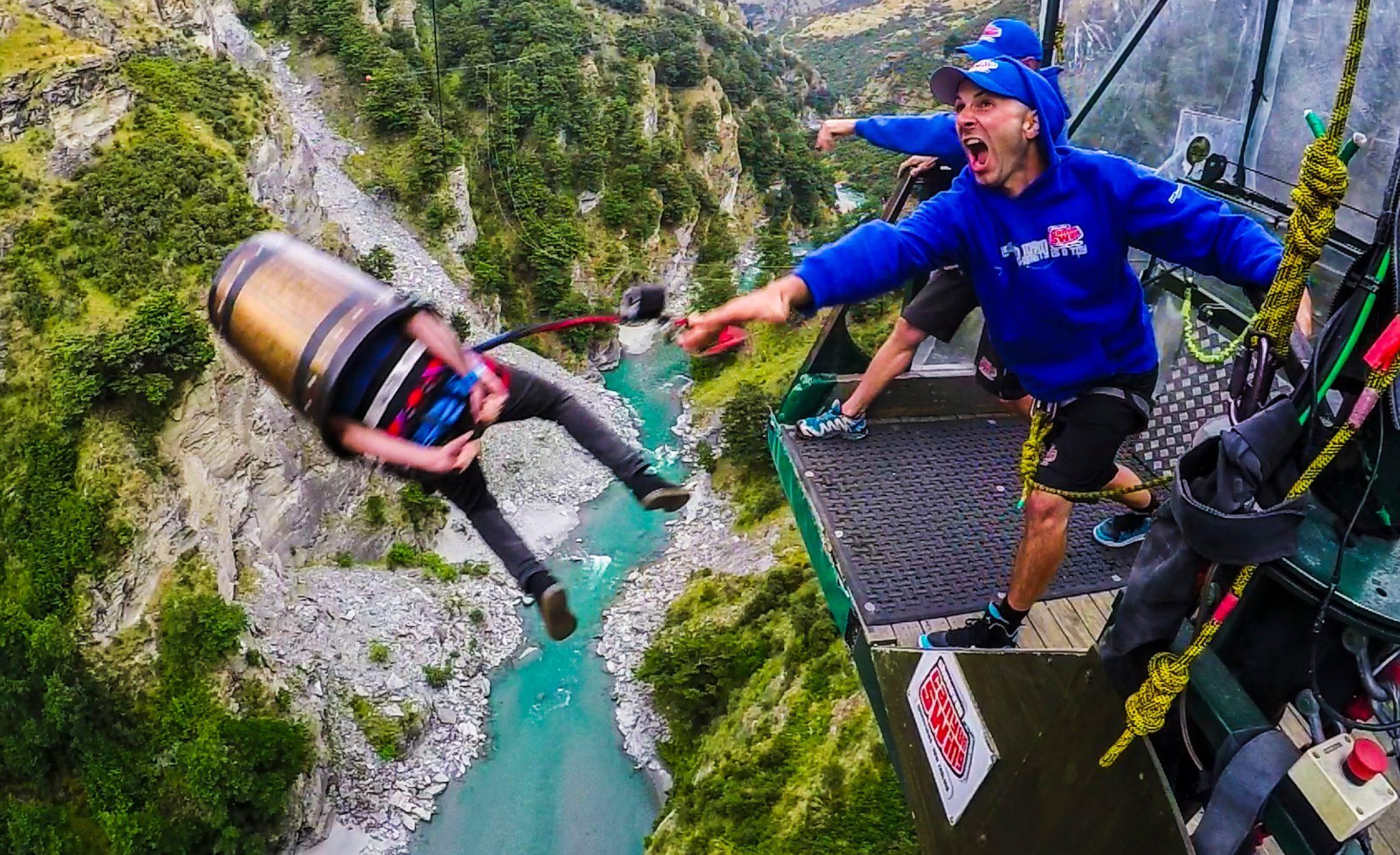 Top 5 Extreme Activities in New Zealand