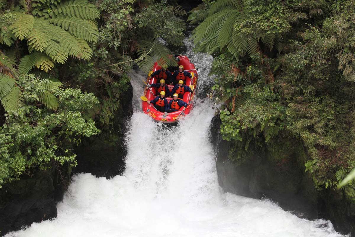 White Water Rafting New Zealand Rotorua