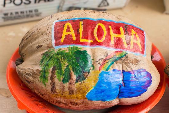 mail a coconut molokai