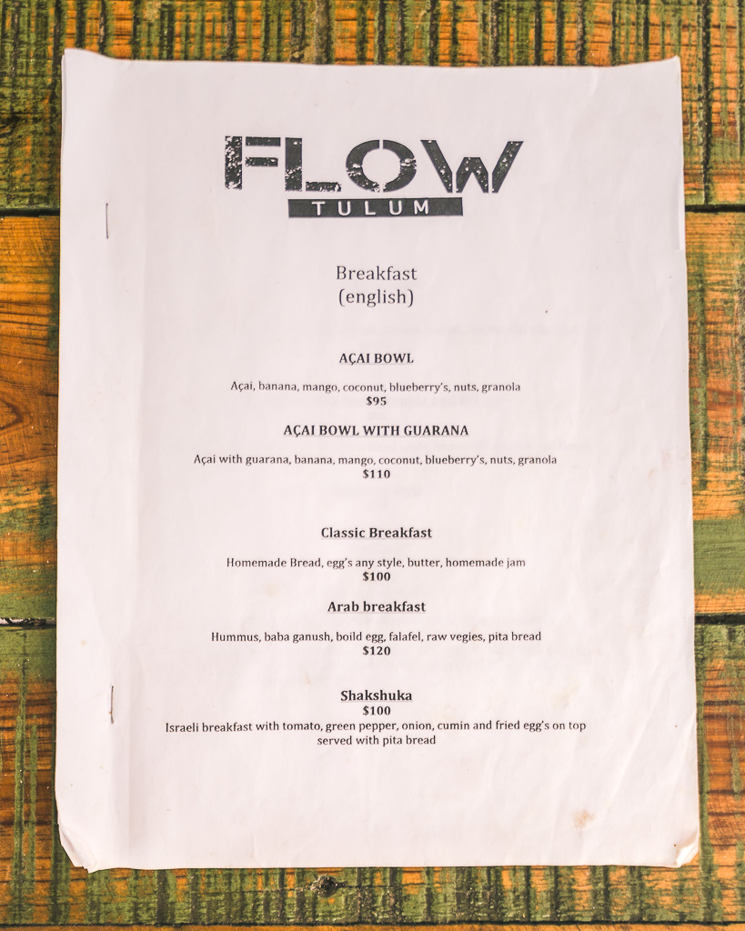 Flow Tulum