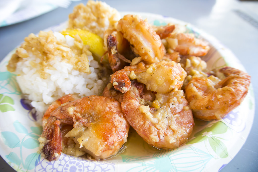 garlic shrimp north shore hawaii