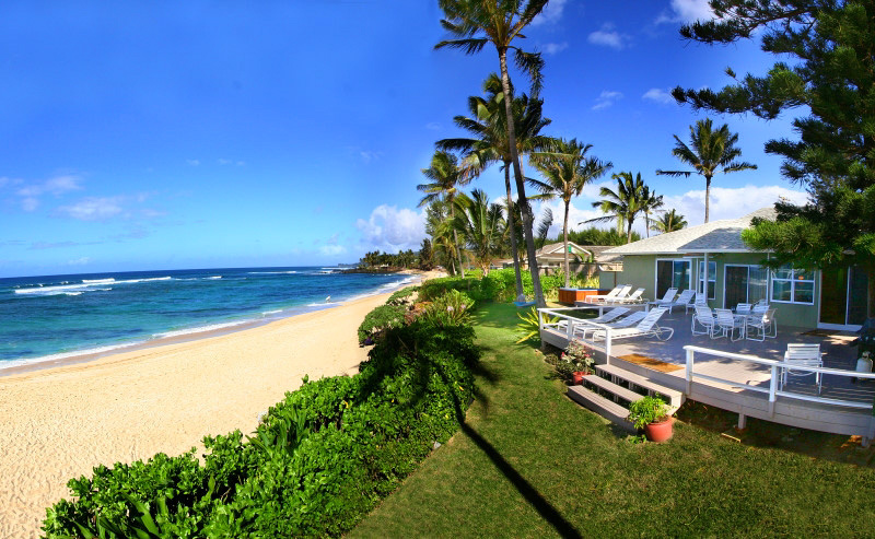 beach house north shore hawaii