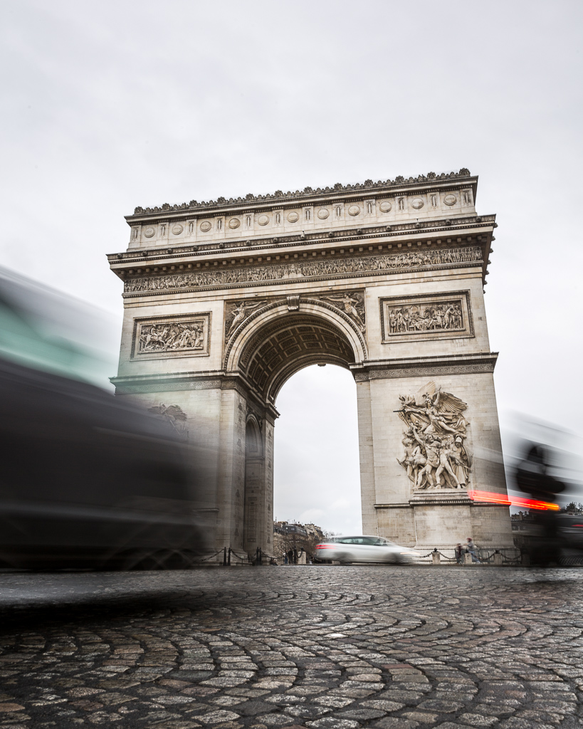 arc de triomph paris france