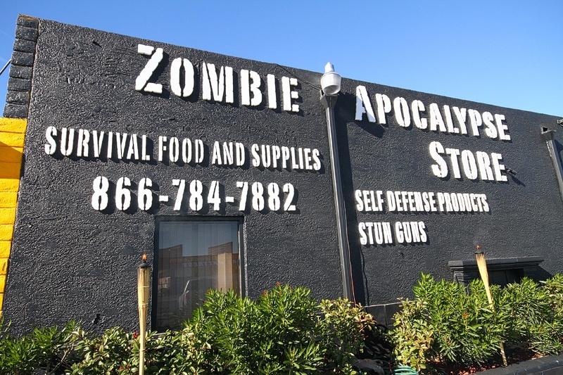 zombie apocalypse store las vegas