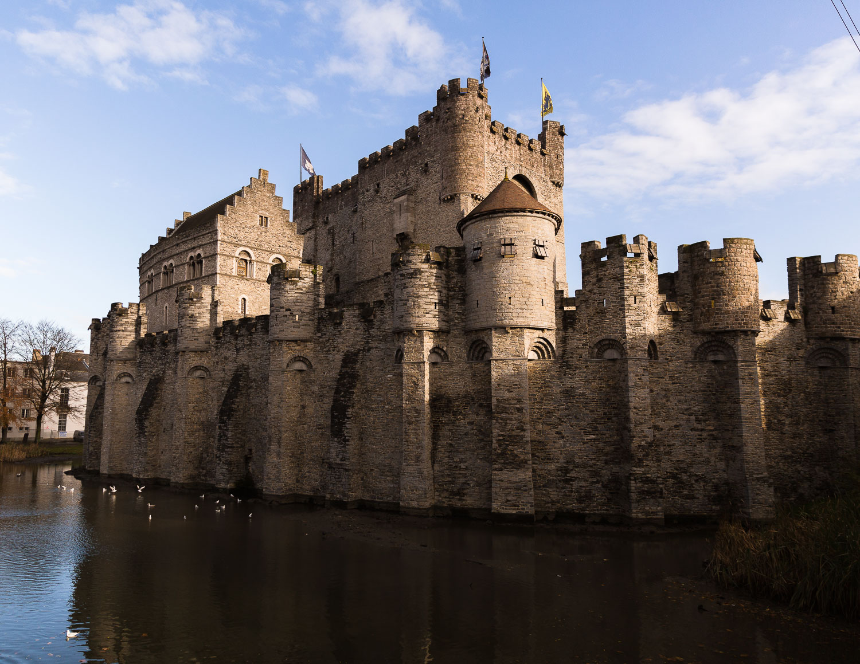 gravensteen castle ghent belgium
