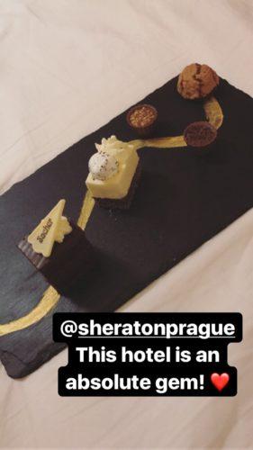 Sheraton Prague Dessert