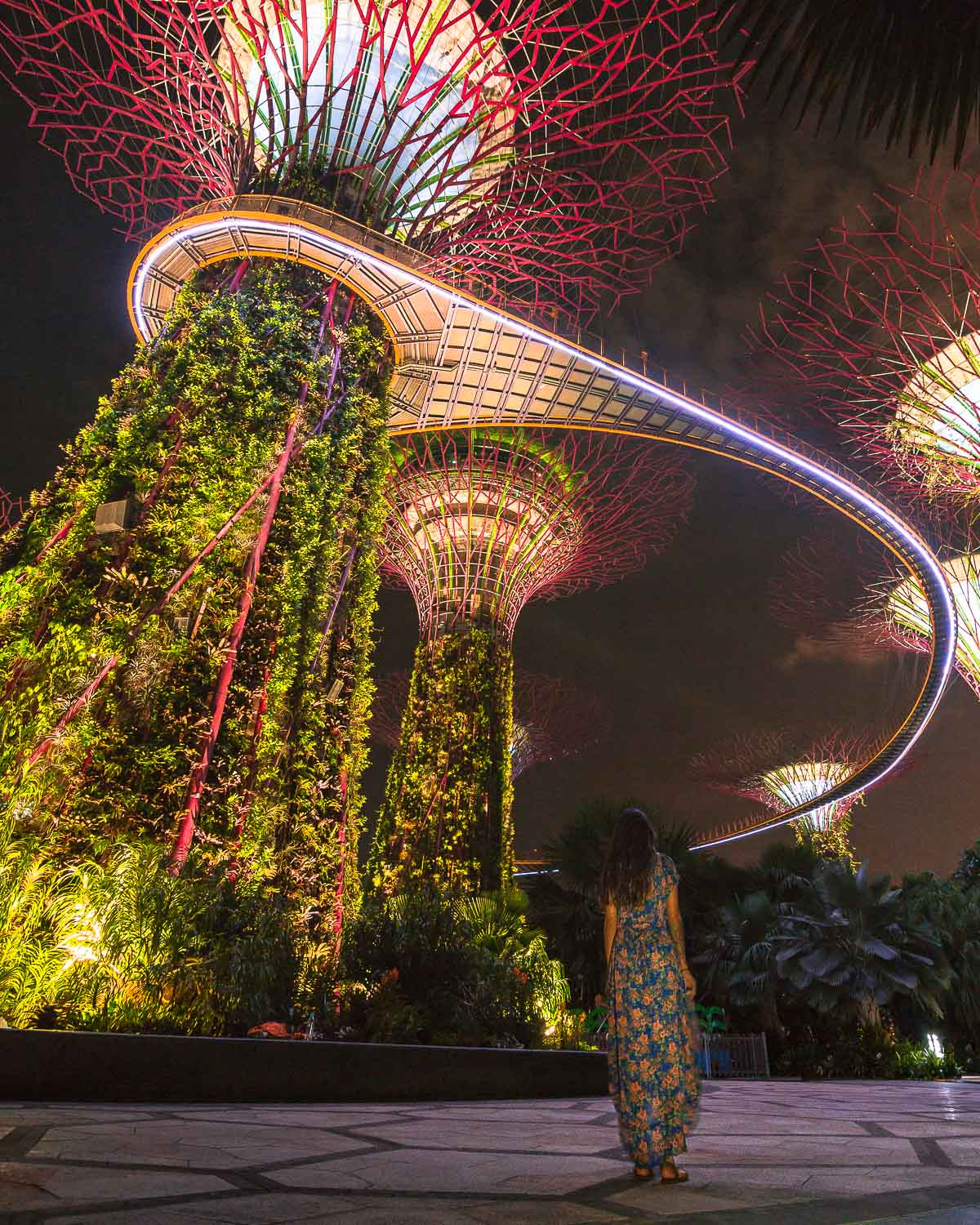 Gardens By The Bay Light Show - Free Things To Do In Singapore