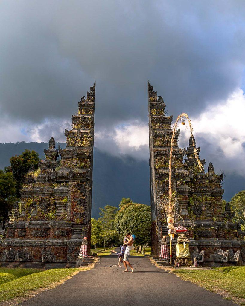 Famous Gates of Bali Handara Golf Course
