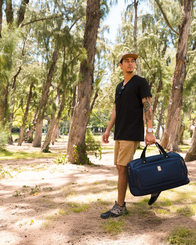 travelpro carry on smart duffel