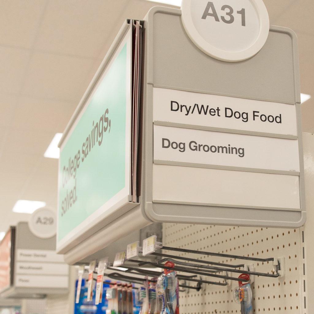 Target Dog Food Aisle