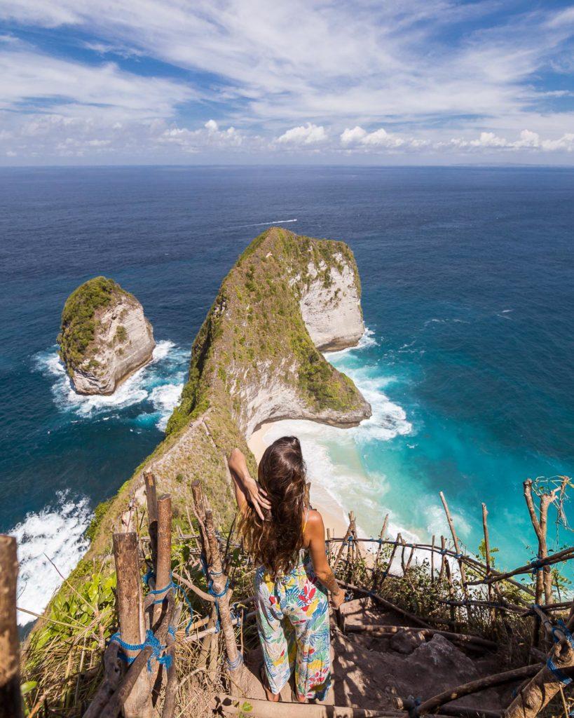 Kelingking Nusa Penida Aerial